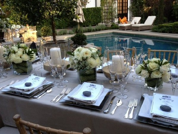 An Intimate Rehearsal Dinner