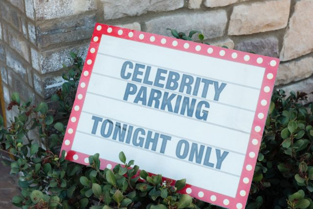 Celebrity Red Carpet Sweet 16 Party Sign