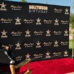 Red Carpet Sweet 16 Backdrop